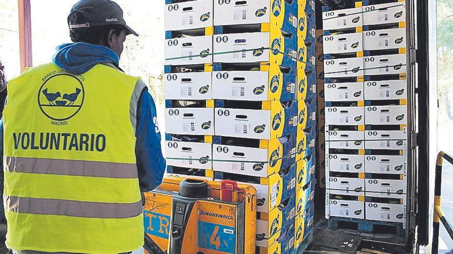 Plátano de Canarias dona un total de 330.000 kilogramos a la Gran Recogida de Alimentos