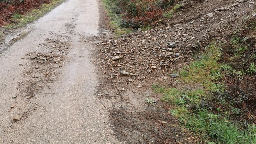 Los quads y motos causan graves destrozos en montes de O Rosal y Goián