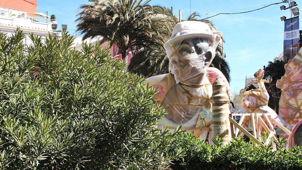 Fallas 2021 en septiembre: Los monumentos saldrán a las calles de València a mediados de agosto.