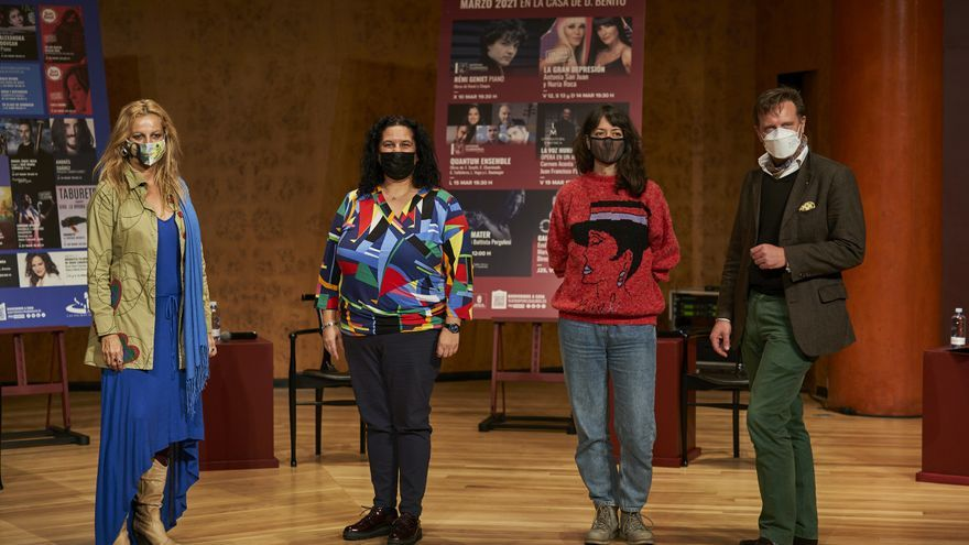 Marzo llega al Auditorio y al Teatro con una nutrida programación con alta presencia femenina