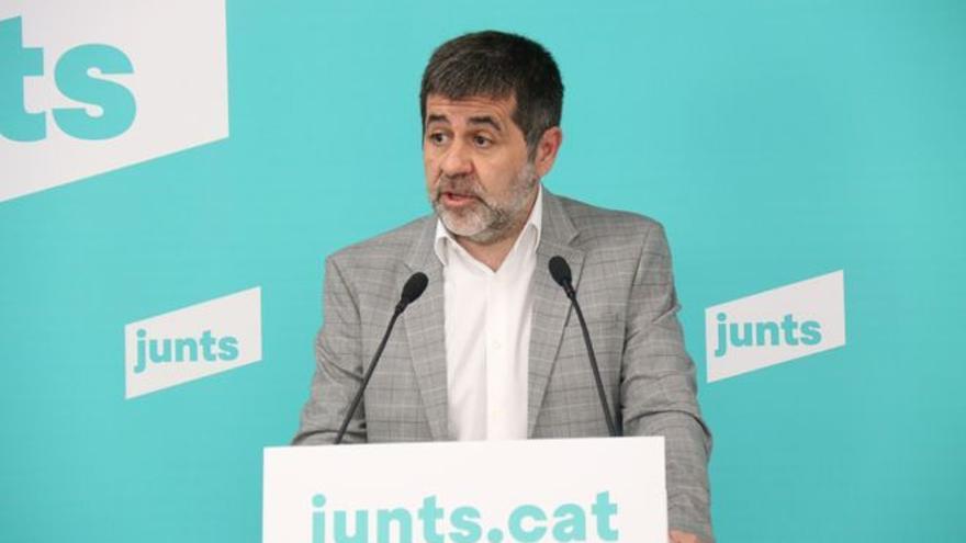 Jordi Sànchez lleva su condena por el 'procés' a Estrasburgo