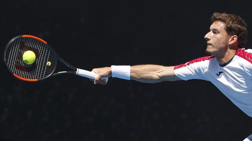 Carreño pasa a la tercera ronda del Open de Australia con puntazo incluido