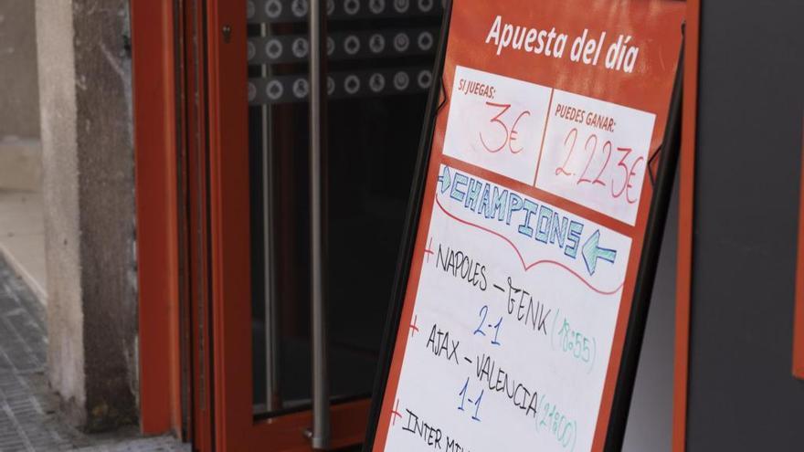 Prorrogado el cierre de los locales de apuestas en Castilla y León