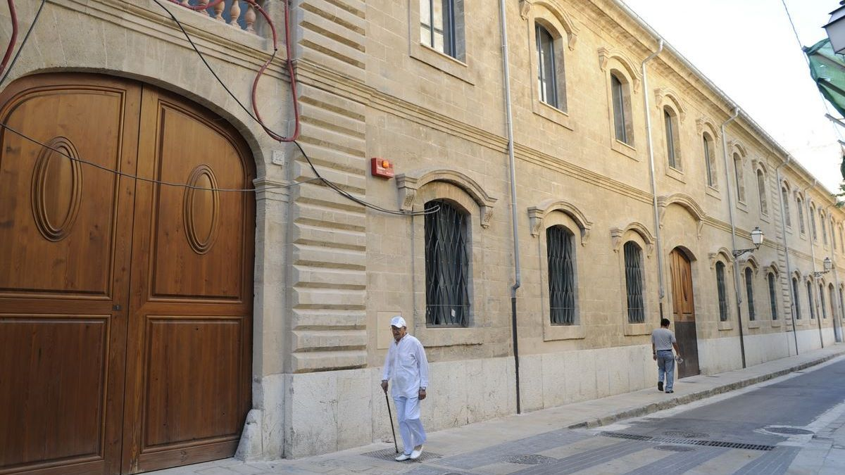 Sede de PalmaActiva en la calle Socors.