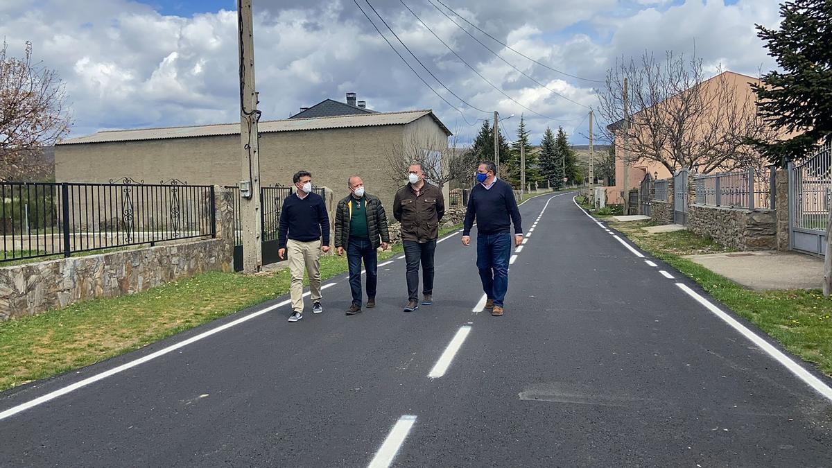 La Diputación mejora carreteras al noroeste de Zamora.