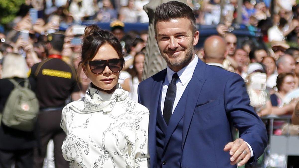 David y Victoria Beckham. / EP