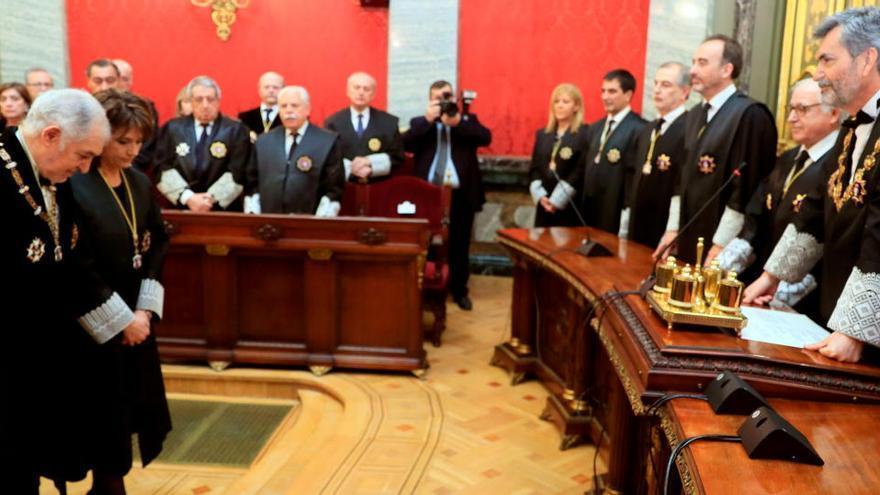 El magistrat del TC Cándido Conde-Pumpido s'aparta dels temes relacionats amb la causa del 'procés'