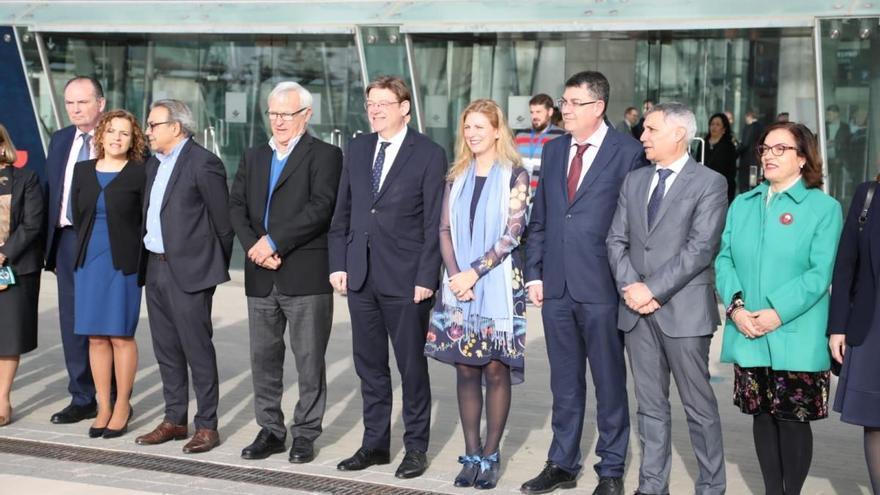 El presidente de la Generalitat, Ximo Puig, inaugura Cevisama 2020