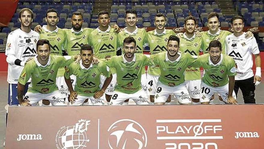 El Palma Futsal mantiene su bloque