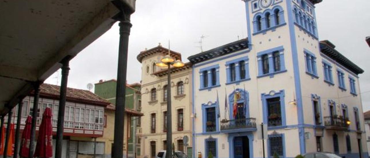 El Ayuntamiento de Grado.