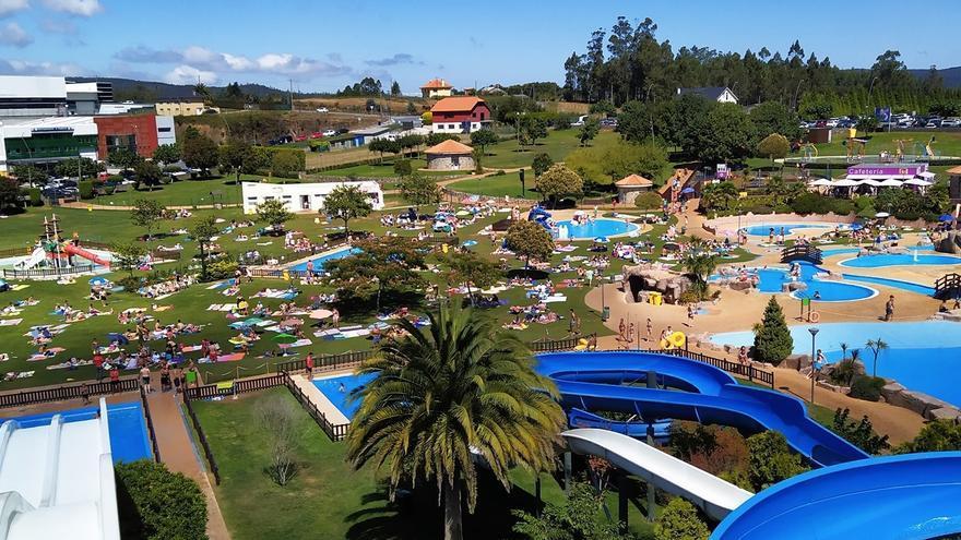 El aquapark de Cerceda abrirá el próximo 19 de junio