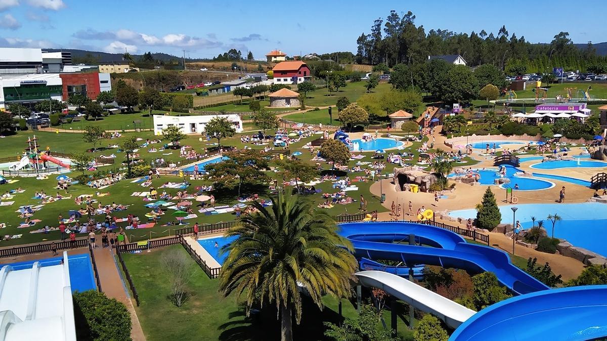 Aquapark de Cerceda.
