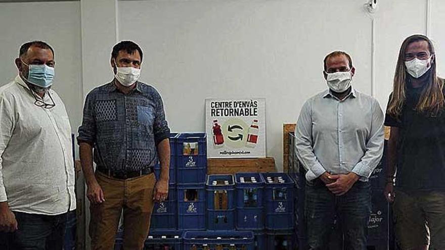 Pfandflaschen auf Mallorca: Firma richtet Mehrweg-Zentrum in Palma ein