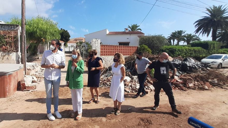 Clamor unánime de los alcaldes: «la CHJ debe limpiar los barrancos»