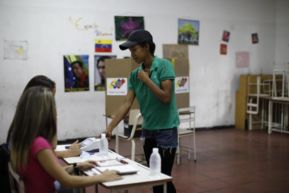 Votación de la Asamblea Constituyente en Venezuela