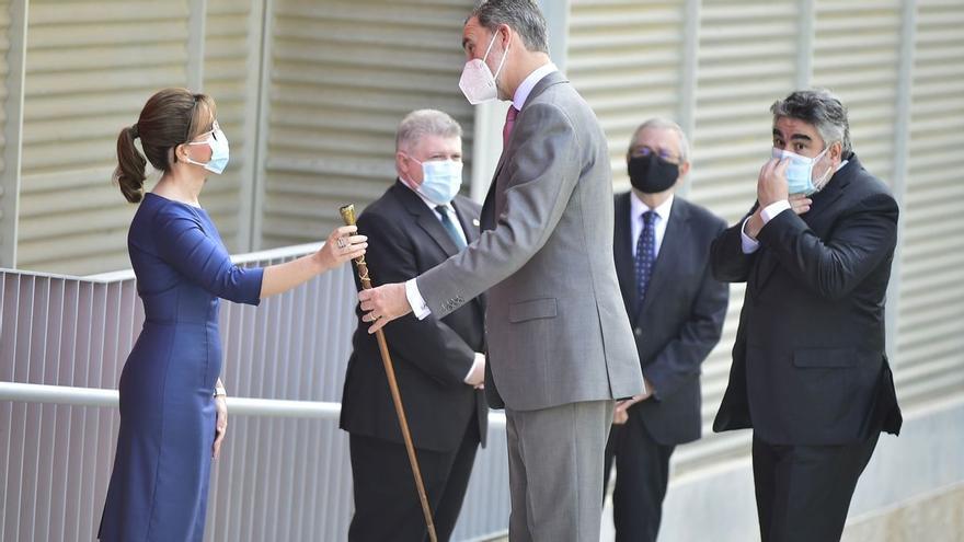 El Rey llega a Cartagena para inaugurar el Museo del Foro Romano