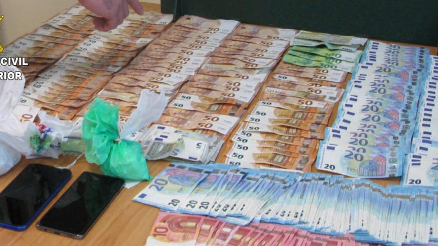 Sorprendidos con cerca de medio kilo de cocaína en Ribadumia