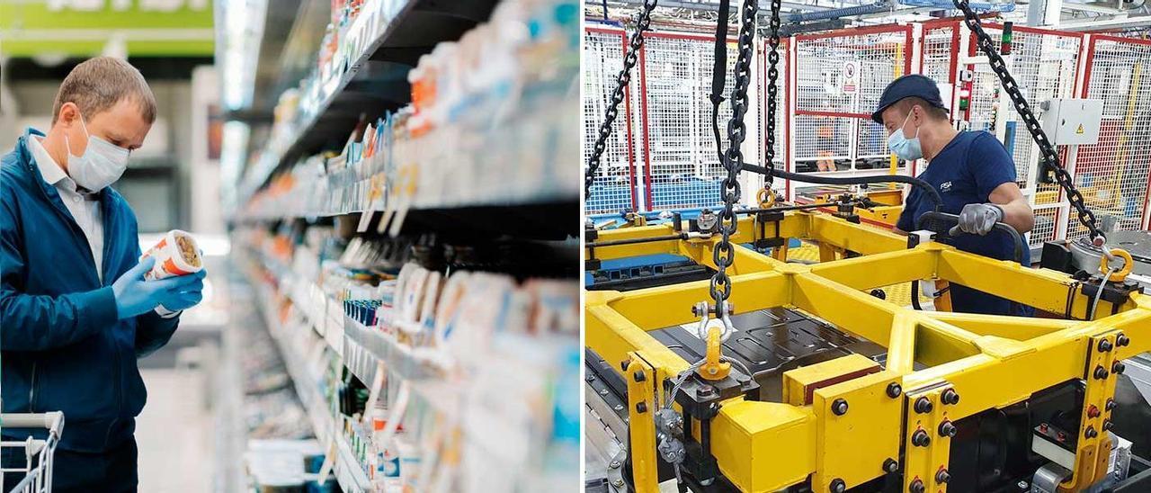 Alimentación y automoción, los sectores que han salido reforzados de la pandemia