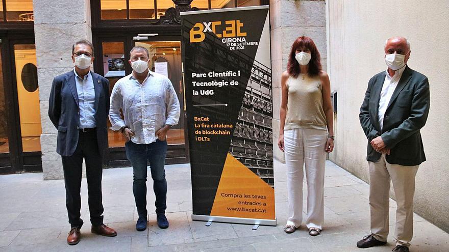 Girona serà la seu de la primera fira de tecnologia blockchain de Catalunya