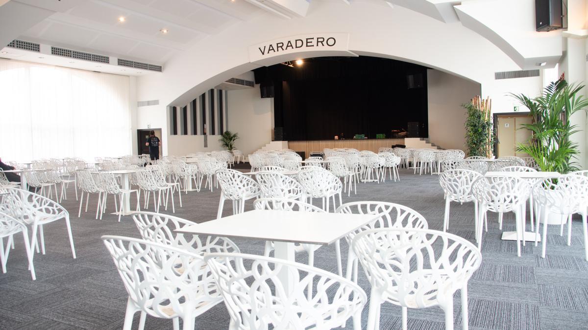 Infografía del interior de la Sala Varadero Experience ubicada en las antiguas atarazanas.