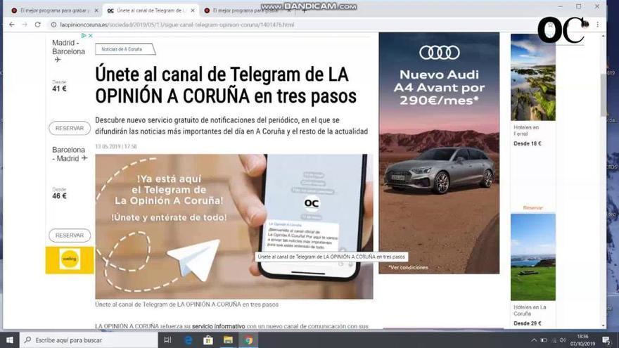 Únete al nuevo canal de Telegram de LA OPINIÓN y entérate de la última hora de la crisis del coronavirus
