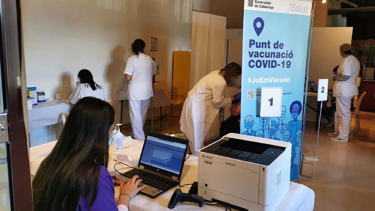 La jornada de vacunació d'aquest dijous al Museu Cerdà de Puigcerdà