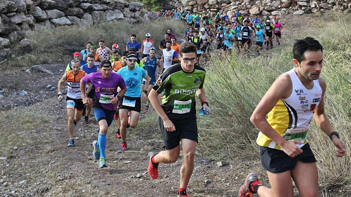 Una imagen de la Peñarrubia Trail de hace dos años.   PEDRO A. MARTÍN CASTAÑO