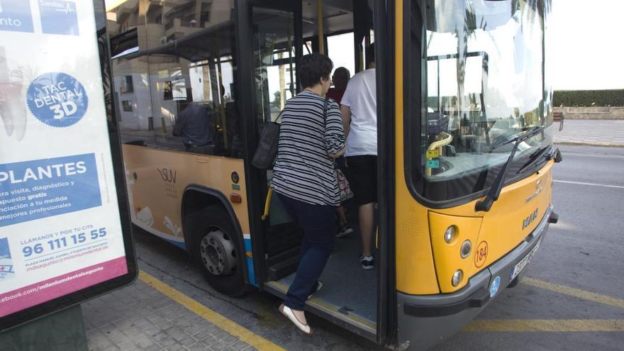 Sagunt restablece el autobús urbano y la Zona Azul