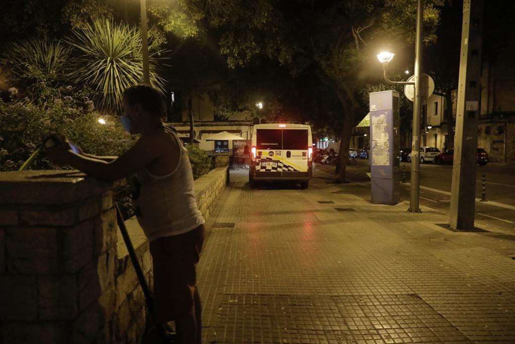 Toque de queda en los barrios Arxiduc, plaza de Toros, Son Forteza Sud y Son Oliva