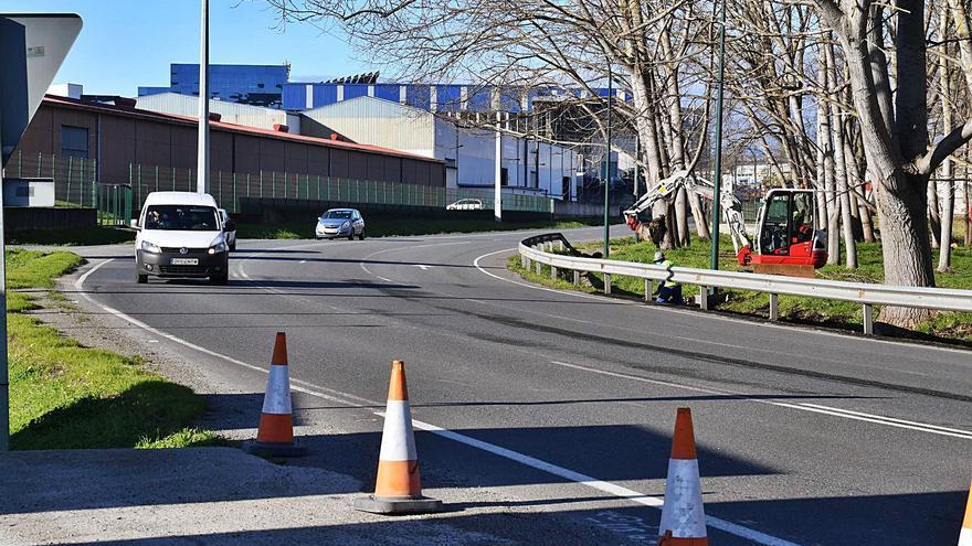 La Xunta inicia la obra para duplicar carriles en Sabón con la meta de acabar en 2022