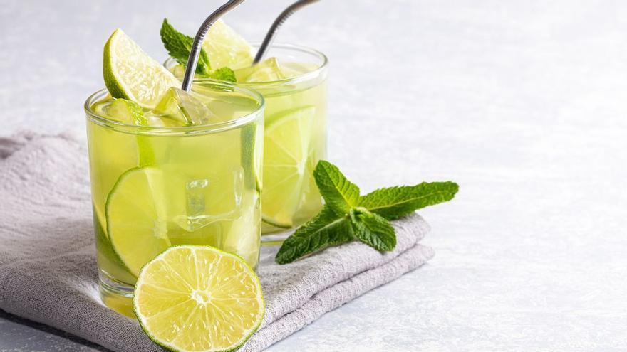 El te verd amb llimona i els seus beneficis per a l'organisme
