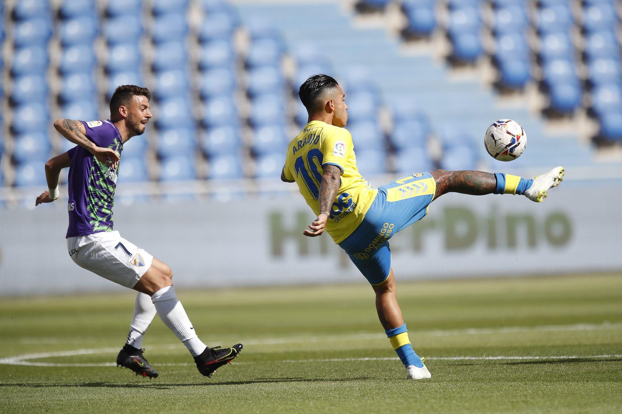 Partido UD Las Palmas- Málaga CF en el Estadio de Gran Canaria (17/04/2021)