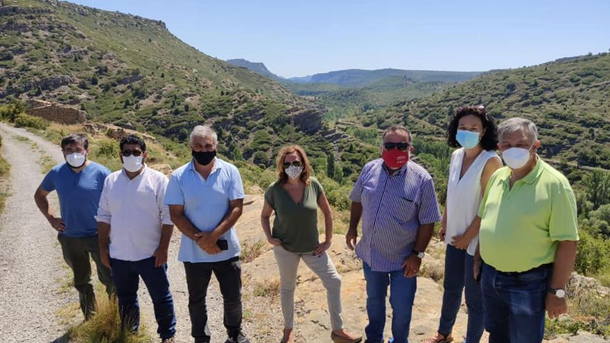 El PSOE de Teruel reivindica la protección y conservación de la presa de Los Toranes