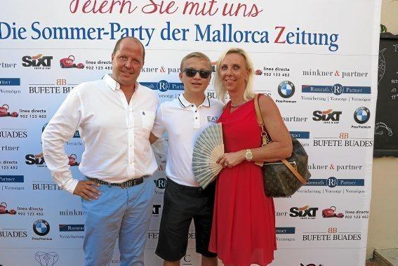 Roland Netscher und Familie