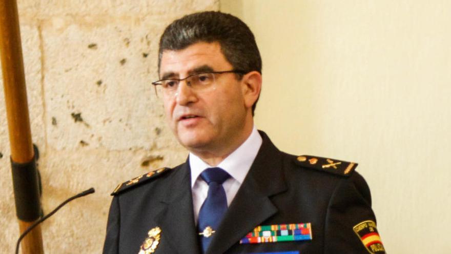 Interior destituye a Javier Cuasante como jefe de Policía de València