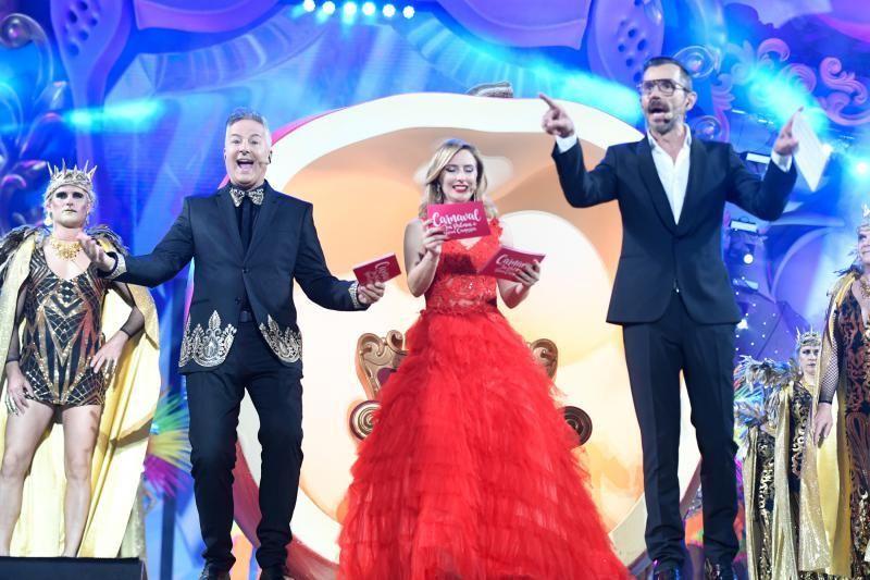 28-02-2020 LAS PALMAS DE GRAN CANARIA. Presentadores en la Gala Drag Queen.    28/02/2020   Fotógrafo: Juan Carlos Castro