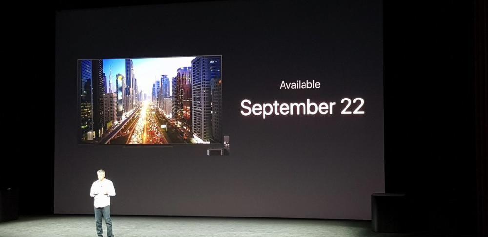 El nuevo Apple TV 4K costará 179 y 199 dólares (32 y 64 Gb, respectivamente).