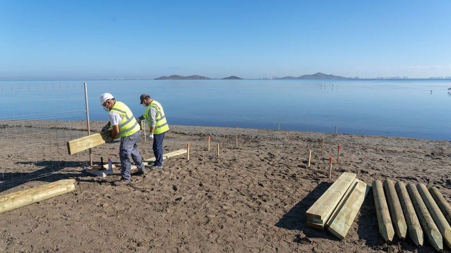 Más de un millón de euros en balnearios nuevos para el Mar Menor