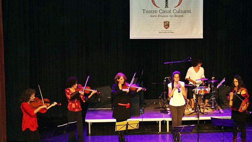 La formació bagenca Les violines celebra els seus 25 anys al Casal Cultural de Sant Fruitós de Bages