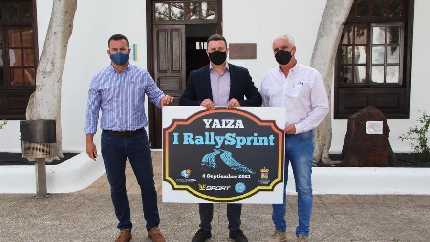 Una treintena de coches participa el sábado en el RallySprint Yaiza