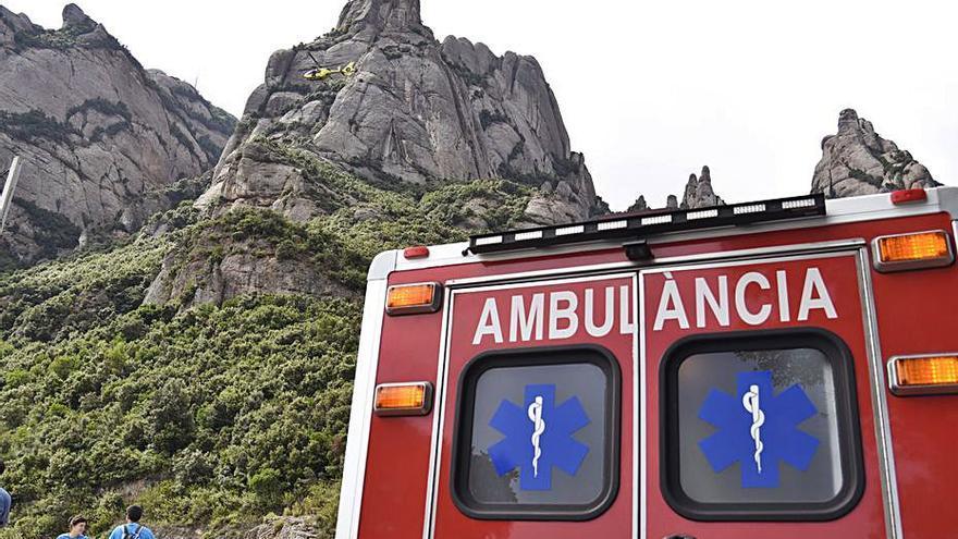 Els rescats al parc de Montserrat es disparen el 43% a l'estiu de la covid