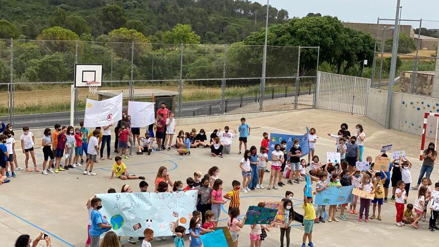 L'escola de Llers celebra el Dia Mundial del Medi ambient