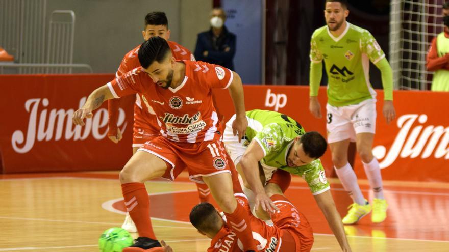 Recital del Jimbee Cartagena ante Palma Futsal (5-4)