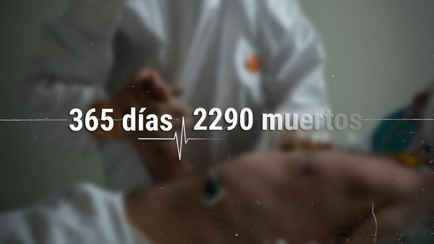 Un año contando víctimas del COVID en Galicia