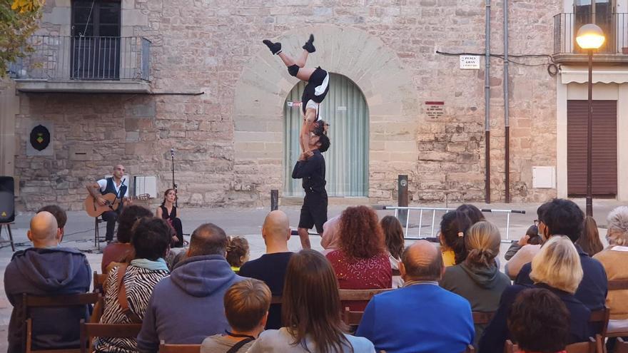 Els espectacles del Festival Test atrauen un centenar de persones a Santpedor