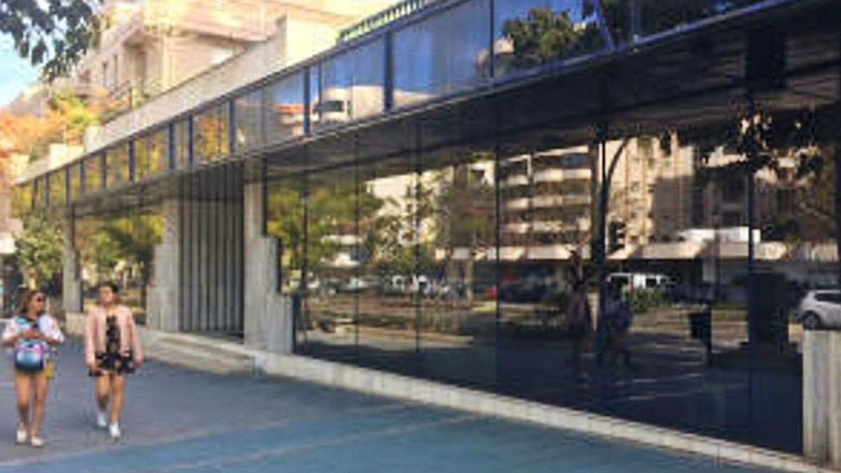 Las dependencias de la antigua sede de Urbanismo que albergarán un centro de salud.