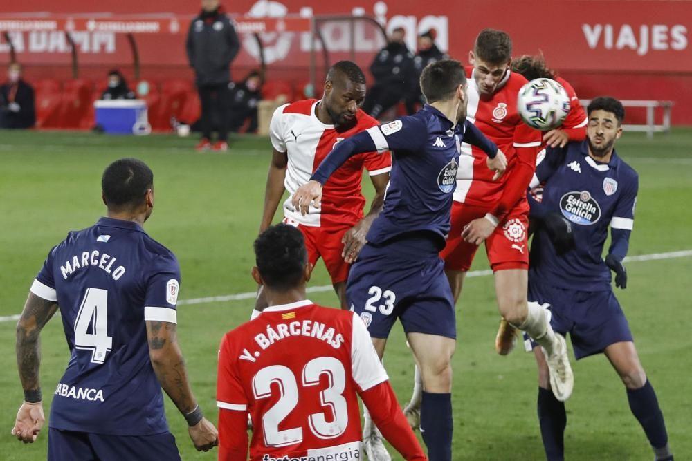 La victòria del Girona a la Copa en imatges