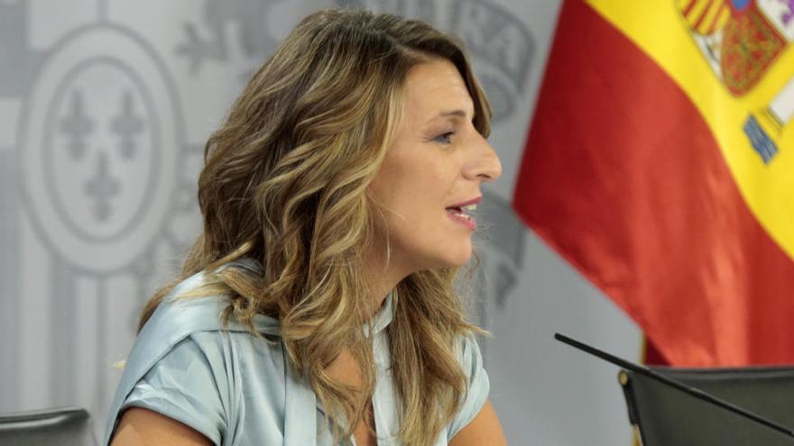 Yolanda Díaz convoca els sindicats i la patronal per negociar la derogació de la reforma laboral el 17 de març