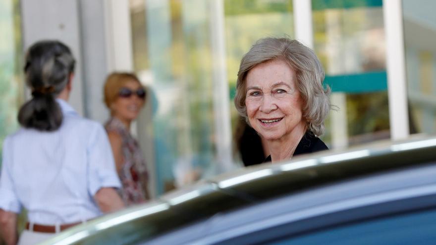 La reina Sofía vuelve a Grecia para un acto solidario y visitar a su familia