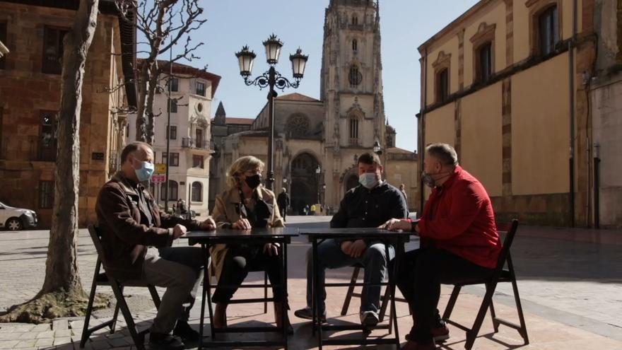 Oviedo: Otea lanza una campaña para impulsar su hostelería de forma segura